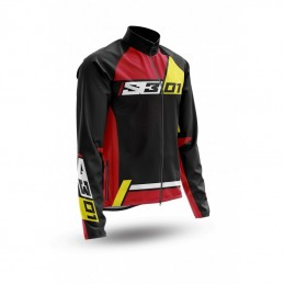 S3 Collection 01 Jacket Black/Red Size XS
