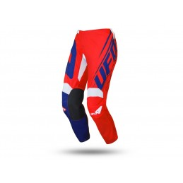 UFO Vanadium Pants JNR Red/Blue Size 34