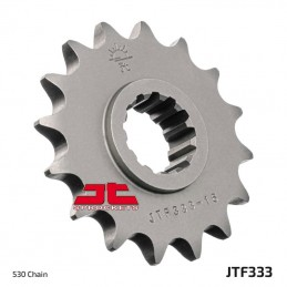 JT SPROCKETS Front Sprocket 14 Teeth Steel Standard 530 Pitch Type 333