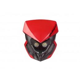 POLISPORT Lookos Evo Headlight Red/Black