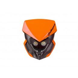 POLISPORT Lookos Evo Headlight Orange/Black