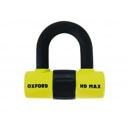 OXFORD HD MAX Disc Lock Ø14mm Yellow