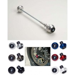 TITANIUM REAR CRASH BALL LSL FOR KAWASAKI