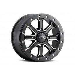 ITP Velocity Wheel 14x7 4x137 6+1 (+50mm) Matte Black/Polished