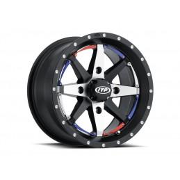ITP Cyclone Wheel 15x7 4x137 5+2 Black/Machined