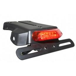 V PARTS Rear Taillight + Short Plate Holder
