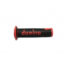 DOMINO A450 Street Racing Grip Black/Red