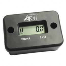 ART Hour Meter Without Wire Black