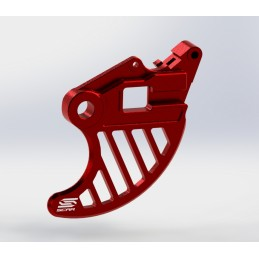 SCAR Disc Protector Rear Red