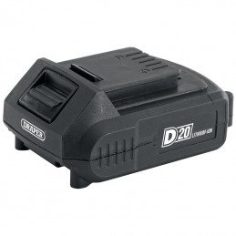 DRAPER D20 20V 2.0Ah Lithium-Ion Battery