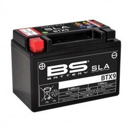 BS BATTERY Battery BTX9 SLA Maintenance Free Factory Activated