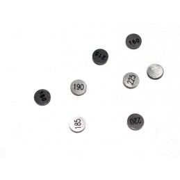 HOT CAMS Valve Shims Ø9,48mm thickness 2,45mm 5 pieces