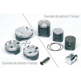 40MM DIAMETER TOP PERFORMANCE PISTON ASSEMBLY FOR PIAGGIO (AIR AND FLUID)