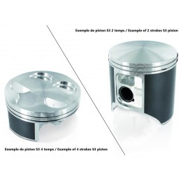 S3 Casted Piston Ø72,47mm Standard Compression TRS One 250