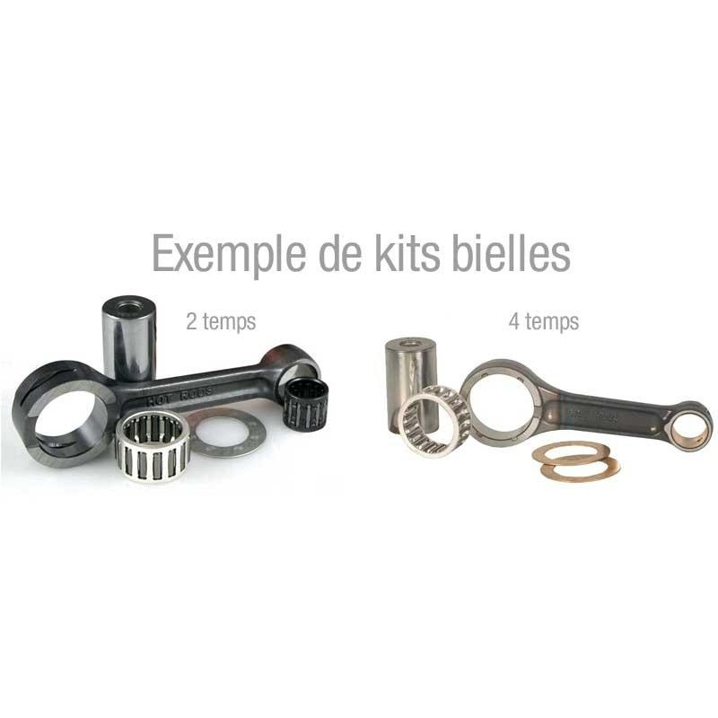 Woessner connecting rods with bearing bushings KTM EXC-F450