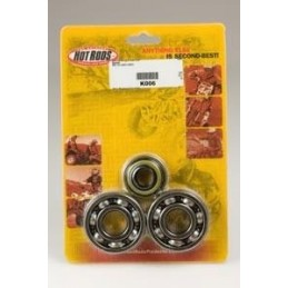 CRANKSHAFT BEARINGS AND SPI KIT FOR RM125 01-07