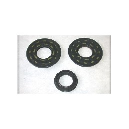 36X80X8 2X / 32X48.5 / X10 SET OF CRANKSHAFT OIL SEALS FOR SJ650/700 1976
