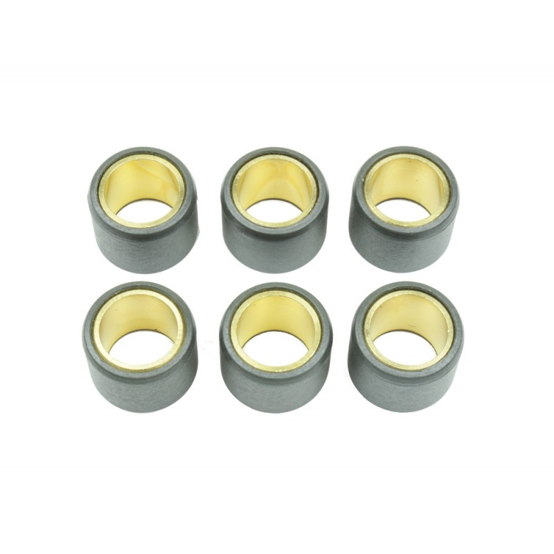 ATHENA Rollers Ø23x18mm 18g - 6 Pieces