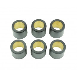 ATHENA Rollers Ø25x22,2mm 22g - 6 Pieces