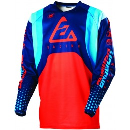 ANSWER Syncron Jersey Swish Blue/Asta/Red Size 2XL