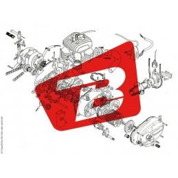 KOSO D64 Handlebar Bracket Ø22mm