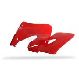 POLISPORT Radiator Covers Red Honda CRF250R/CRF450R
