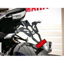 V PARTS License Plate Holder Black Yamaha MT-125