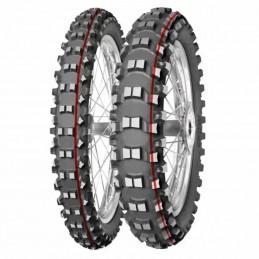 MITAS Tyre TERRA FORCE-MX SM - Soft To Medium - 90/90-21 M/C 54M TT red