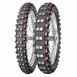 MITAS Tyre TERRA FORCE-MX MH - Medium To Hard - 90/90-21 M/C 54M TT red