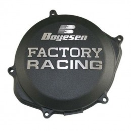 BOYESEN Factory Racing Clutch Cover Black Honda CR250R/500R
