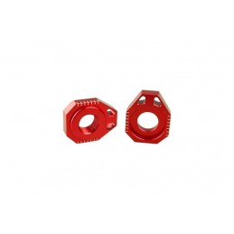 SCAR Axle Blocks Red