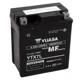 YUASA W/C Battery Maintenance Free Factory Activated - YTX7L FA