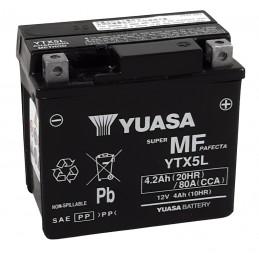 YUASA W/C Battery Maintenance Free Factory Activated - YTX5L FA