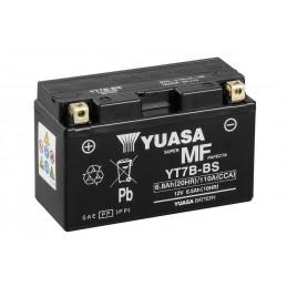 YUASA Battery Maintenance Free with Acid Pack - YT7B-BS