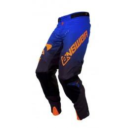 ANSWER Trinity Pants Black/Cobalt/Neon Orange Size 34