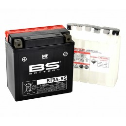 BS BATTERY Battery Maintenance Free with Acid Pack - BT9A