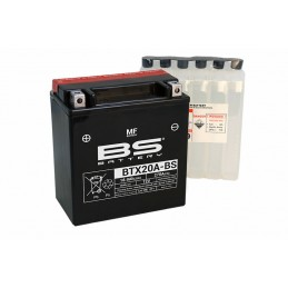 BS BATTERY Battery Maintenance Free with Acid Pack - BTX20A