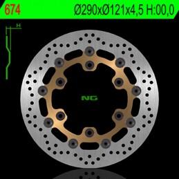 NG BRAKE DISC Floating Brake Disc - 674