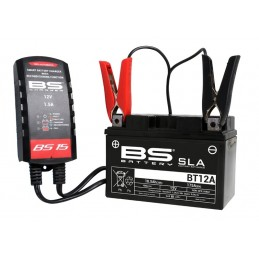 BS BATTERY BS15 Smart Battery Charger