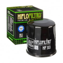 HIFLOFILTRO HF303 Oil Filter Black