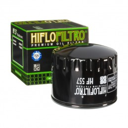 HIFLOFILTRO HF557 Oil Filter Black