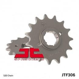 JT SPROCKETS Front Sprocket 15 Teeth Steel Standard 520 Pitch Type 306