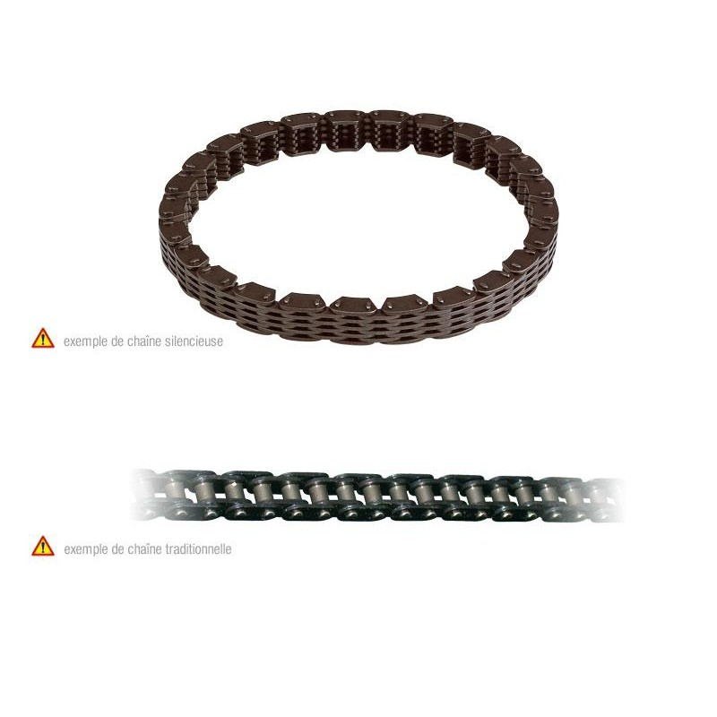 TIMING CHAIN  128 LINKS KLXR250-300 '93-03
