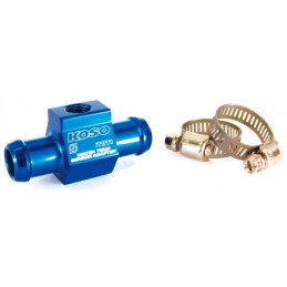Koso water temperature sensor adapter for Ø26mm hose