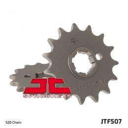 JT SPROCKETS Front Sprocket 15 Teeth Steel Standard 520 Pitch Type 507