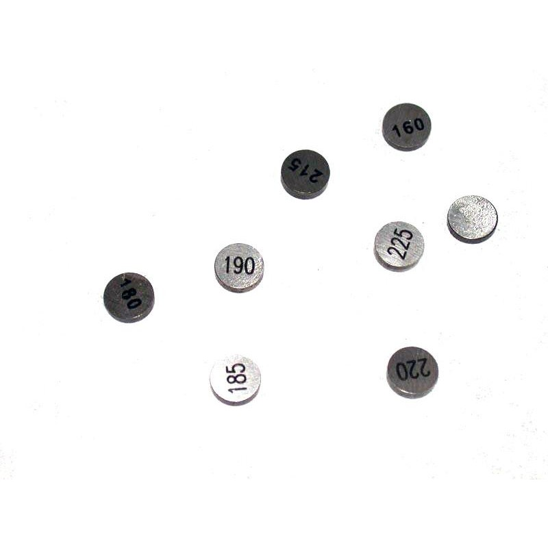 HOT CAMS Valve Shims Ø7,48mm thickness 2,50mm 5 pieces