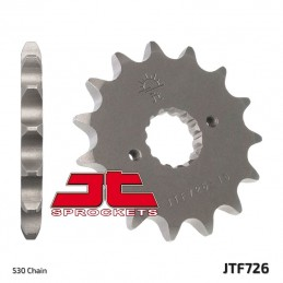 JT SPROCKETS Front Sprocket 15 Teeth Steel Standard 520 Pitch Type 726