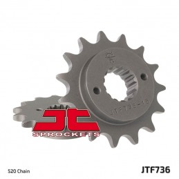 JT SPROCKETS Front Sprocket 14 Teeth Steel Standard 520 Pitch Type 736