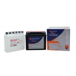 TECNIUM Battery BT12A-BS Maintenance Free with Acid Pack