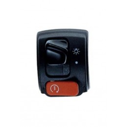 RIGHT BLACK SIGNAL SWITCH FOR BOOSTER, BW'S NG '00-03, STARTER, 2-POSITION LIGHT